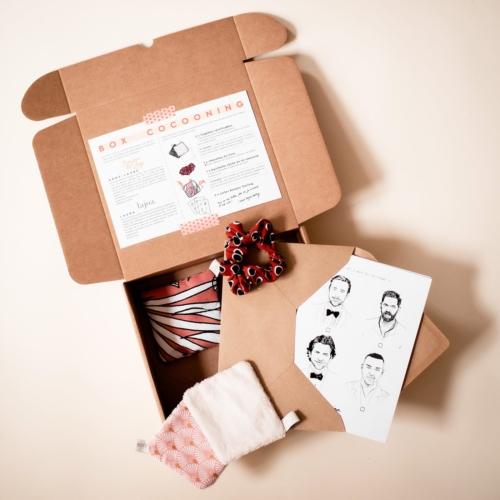 box noel cadeau cocooning bien-être détente fait main france Sud-Ouest