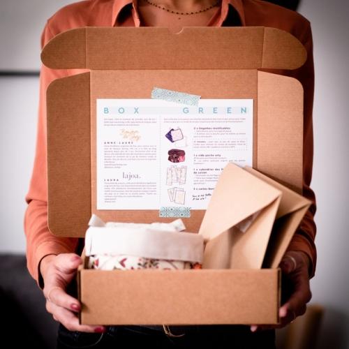 box ecolo ecologie environnement fait main france sud-ouest couture fruits legumes calendrier carte papeterie